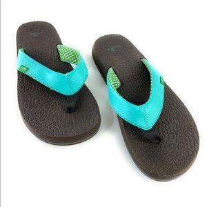 Sanuk Yoga Mat Thong Flip Flop Sandals